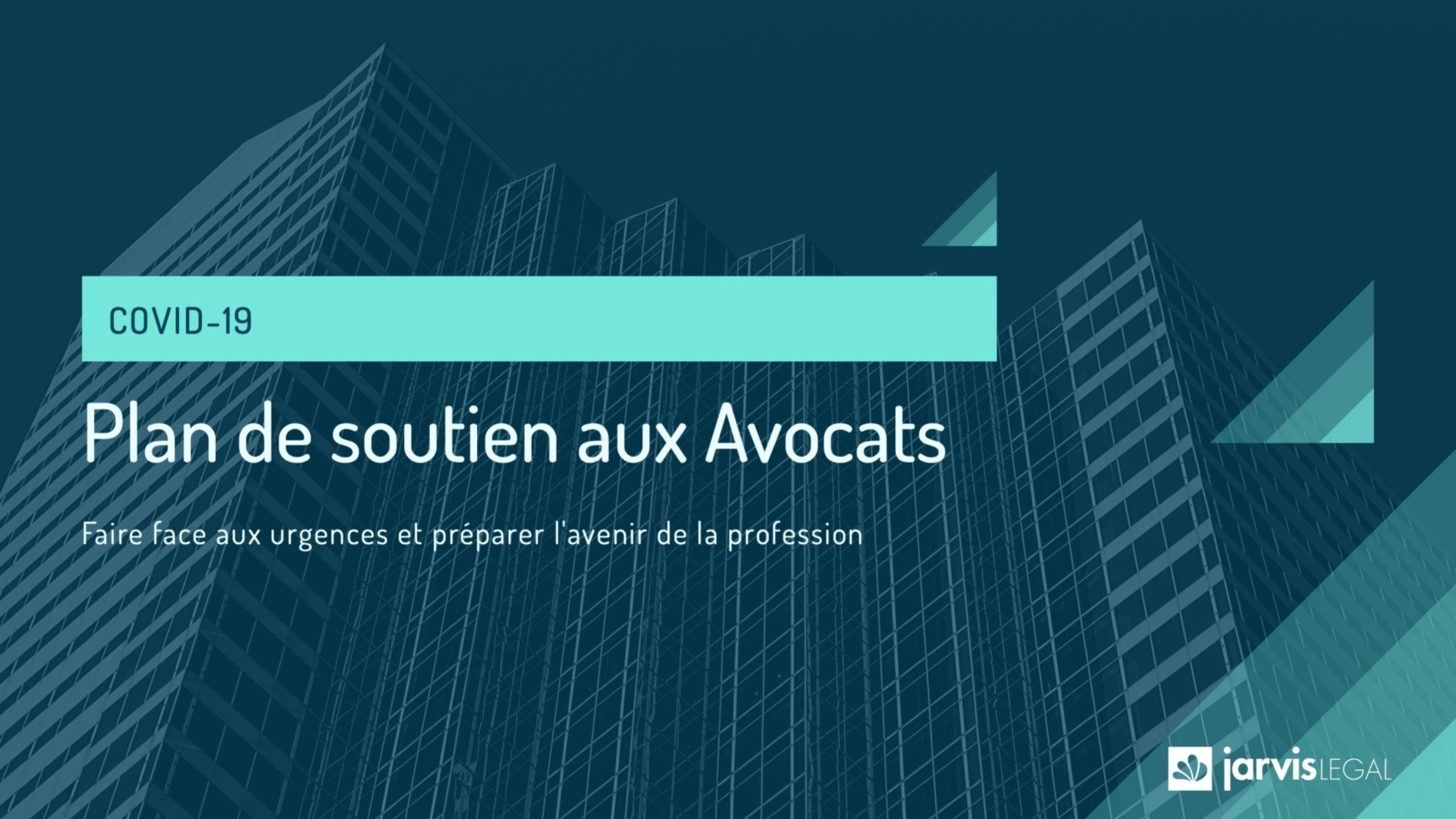Plan de soutien aux Avocats et collaborateurs - 2020