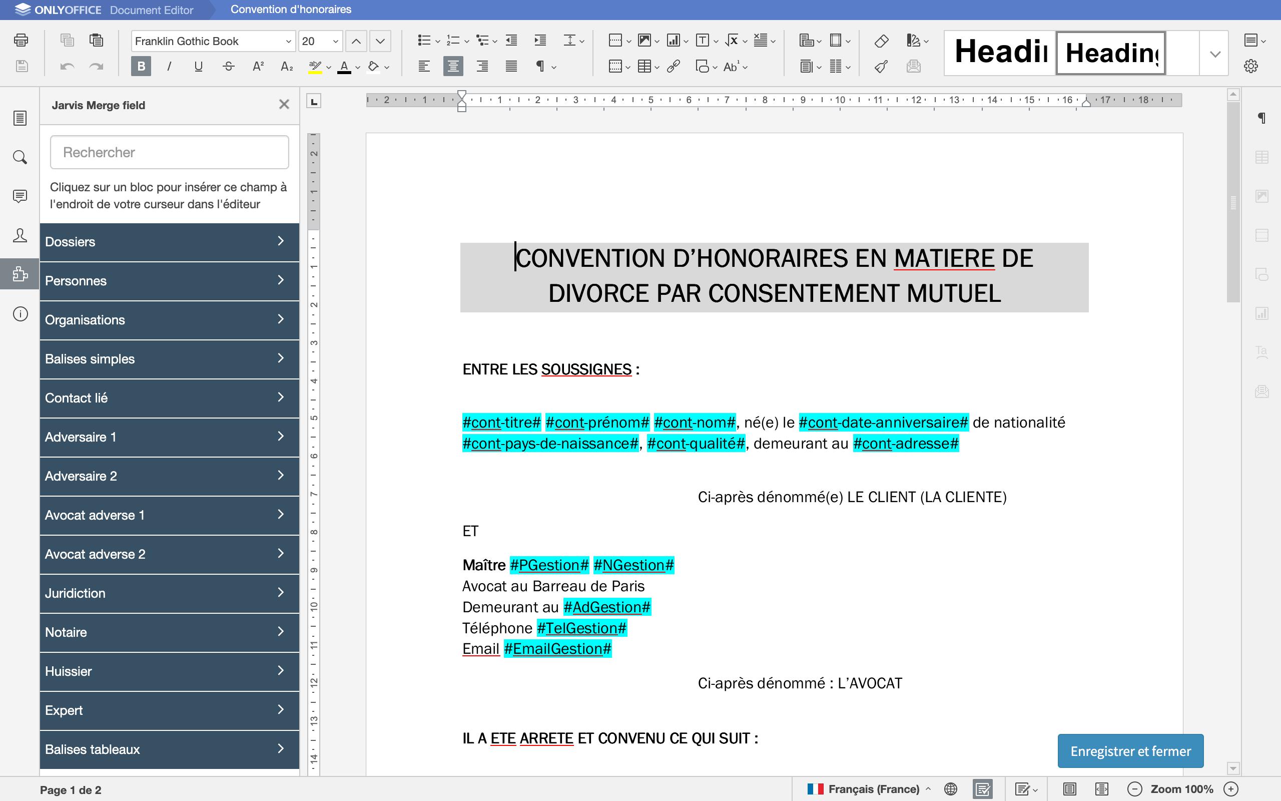 logiciel redaction avocat